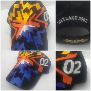 Vtg Winter Olympics Dad Hat 2002 Salt Lake City